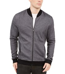 alfani men's zip-front sweater jacket, created for macy's