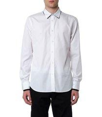 alexander mcqueen white cotton shirt