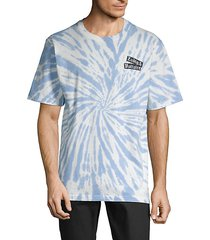tie-dyed cotton tee