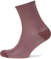 dina solid lingerie hosiery socks rosa becksöndergaard