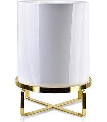 kwietnik metalowy osłonka ceramiczna blanco 33 cm