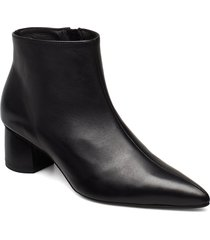 to the moon and back shoes boots ankle boots ankle boot - heel svart anny nord