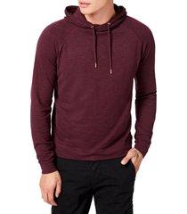 men's good man brand legend slim fit pullover hoodie, size xx-large - burgundy