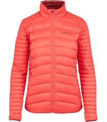 parka mujer ridgevent thermo insulated salmón merrell