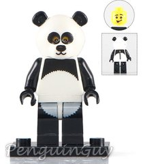 unbranded panda suit guy minifigure series collectable fits lego uk seller