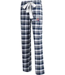 concepts sport women's oklahoma city thunder piedmont flannel pajama pants