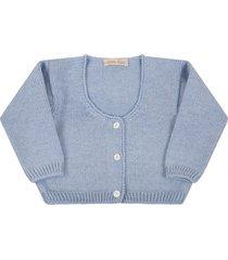 little bear light blue cardigan for babykids