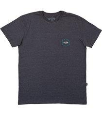 camiseta access ii billabong - cinza - masculino - dafiti
