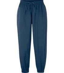 pantaloni cropped larghi in cotone (blu) - bpc bonprix collection