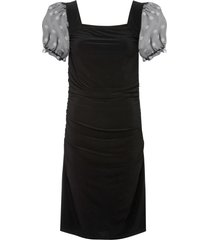 abito con maniche a palloncino (nero) - bodyflirt