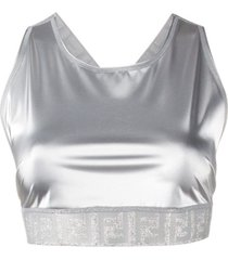 fendi top esportivo - f0znm white
