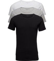 cn tee ss 3 pack pre underwear t-shirts short-sleeved svart tommy hilfiger