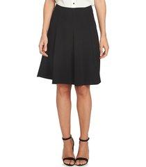women's cece crepe a-line skirt, size 10 - black