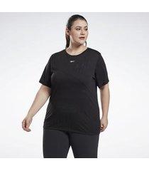 t-shirt reebok sport burnout t-shirt (plus size)