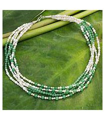 cultured pearl strand necklace, 'chiang mai melody' (thailand)