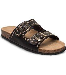 sandal shoes summer shoes flat sandals svart sofie schnoor
