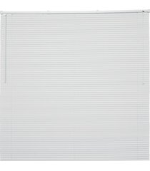 persiana horizontal em pvc off 130x140cm branca