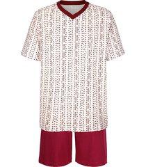 pyjamas roger kent bordeaux::ljusblå