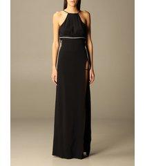 just cavalli dress just cavalli long dress in viscose