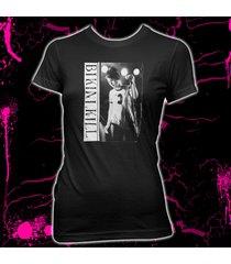 bikini kill - kathleen hanna - riot grrl - women's 100% cotton babydoll t-shirt