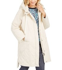 weekend max mara hooded puffer coat