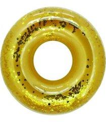 bóia inflável gigante anel bel lazer