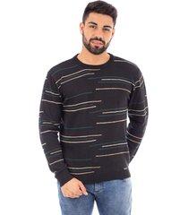 blusão de malha sumaré 10442 preto