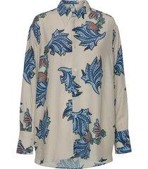 mantra shirt blouse lange mouwen beige hope