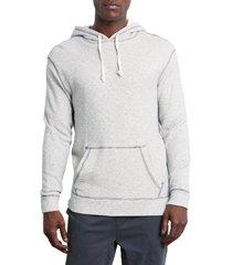 men's rails smith regular fit hoodie, size small - beige