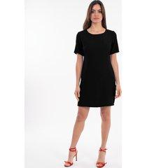 vestido negro mia loreto cassis