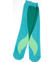 disney parks the little mermaid ariel fin women adult socks new with tags