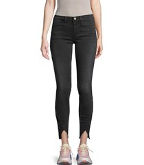 frame denim women's skinny jeans - wheatley - size 32 (10-12)