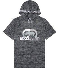 ecko unltd men's rhino strong ss tape hoodie