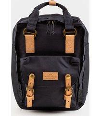 women's doughnut macaroon reborn series backpack in black in black by francesca's - size: one size