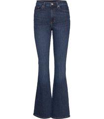 high-rise flare jean jeans wijde pijpen blauw banana republic
