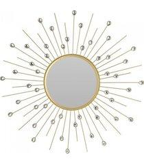 lustro metalowe okrągłe el sol