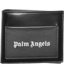 palm angels iconic bifold wallet