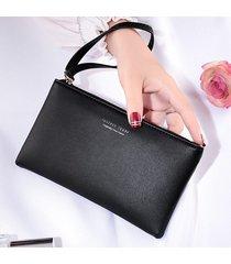 clutch borsa della borsa della moneta del telefono di grande capacità delle donne borsa
