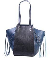 old trend utility leather tote bag