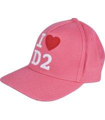 dsquared2 i love d2 cap