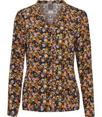 zwart ichi ihclara sh 10011 blouse