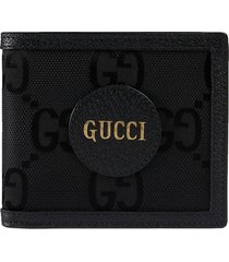 gucci off the grid gg supreme canvas wallet - black