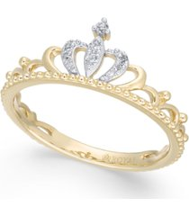 diamond tiara ring (1/20 ct. t.w.) in 14k gold