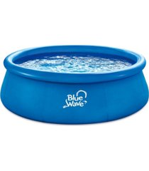 blue wave deep speed family pool with cover, set of 2