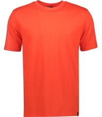 scotch & soda t-shirt - slim fit - rood