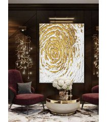 golden flakes - wielkoformatowy obraz art&texture