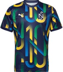 neymar jr hero jersey t-shirts football shirts blå puma