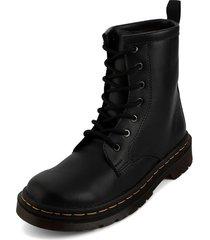 bota negro blanco perla btm-001