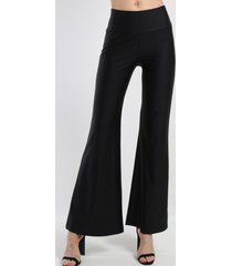 pantalon palazzo oxford negro night concept