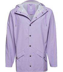 jacket regenkleding paars rains